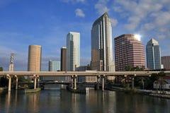 Horizonte de Tampa Fotos de archivo libres de regalías