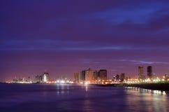 Horizonte de Tel Aviv Foto de archivo libre de regalías