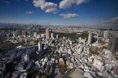 Horizonte de Tokio fotografía de archivo