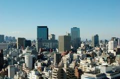Horizonte de Tokio Imágenes de archivo libres de regalías