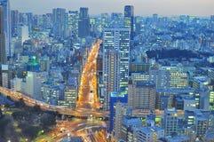 Horizonte de Tokio Fotos de archivo libres de regalías