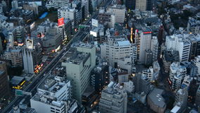 Horizonte de Tokio almacen de metraje de vídeo