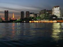 Horizonte de Tokio, Japón Imagen de archivo