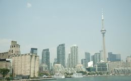 Horizonte de Toronto Imagen de archivo