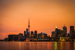 Horizonte de Toronto Foto de archivo