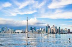 Horizonte de Toronto Imágenes de archivo libres de regalías