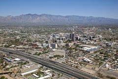 Horizonte de Tucson imagen de archivo libre de regalías