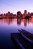 Horizonte de Vancouver imagen de archivo