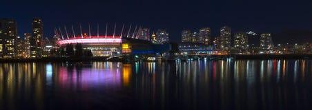 Horizonte de Vancouver foto de archivo libre de regalías