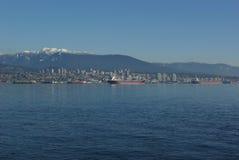 Horizonte de Vancouver Imágenes de archivo libres de regalías