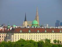 Horizonte de Viena imágenes de archivo libres de regalías