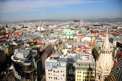 Horizonte de Viena Foto de archivo libre de regalías