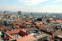 Horizonte de Viena Fotos de archivo libres de regalías