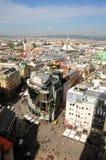 Horizonte de Viena Fotografía de archivo