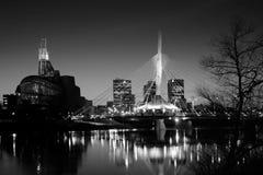 Horizonte de Winnipeg Imágenes de archivo libres de regalías