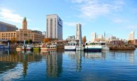 Horizonte de Yokohama en Japón Imágenes de archivo libres de regalías
