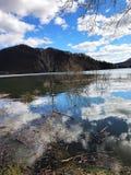 Horizonte del agua Imagen de archivo libre de regalías