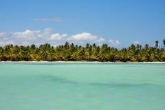 Horizonte del Caribe Foto de archivo libre de regalías