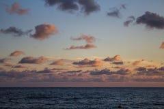 Horizonte del cielo del mar Foto de archivo