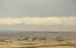 Horizonte del desierto del paisaje Imagenes de archivo