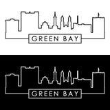 Horizonte del Green Bay estilo linear