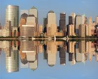 Horizonte del Lower Manhattan imagen de archivo
