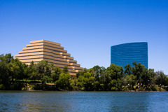 Horizonte del oeste de Sacramento Imagenes de archivo