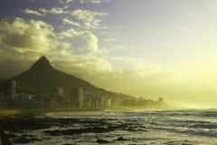 Horizonte del punto del mar (i) Imagen de archivo