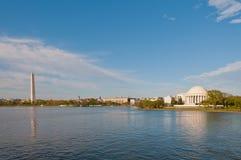 Horizonte del Washington DC Imagenes de archivo
