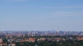 Horizonte distante de Berlín Fotos de archivo libres de regalías