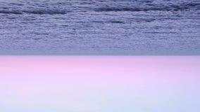Horizonte do oceano de cabeça para baixo filme