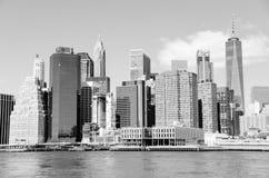 Horizonte en blanco y negro Fotos de archivo libres de regalías