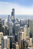 Horizonte hermoso de Chicago, Illinois fotos de archivo