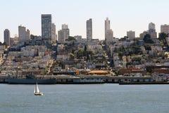 Horizonte hermoso de San Francisco Fotografía de archivo