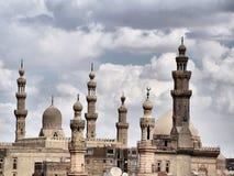 Horizonte islámico de la mezquita imágenes de archivo libres de regalías