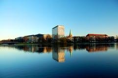 Horizonte Kiel, Alemania Imágenes de archivo libres de regalías