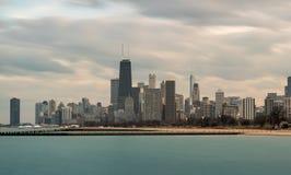 Horizonte los E.E.U.U. de CHICAGO IL fotografía de archivo libre de regalías