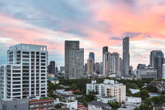 Horizonte moderno de Bangkok Fotos de archivo
