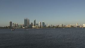 Horizonte Perth Australia occidental capital almacen de video