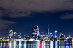 Horizonte pinta de Perth 2 Foto de archivo libre de regalías