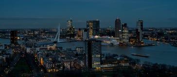Horizonte Rotterdam Imagen de archivo