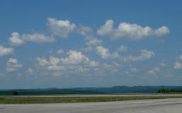 Horizonte rural de Missouri del sudoeste Imagen de archivo