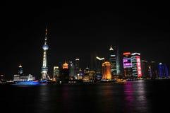 Horizonte Shangai Fotos de archivo