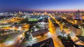 Horizonte Suráfrica de Durban Fotos de archivo