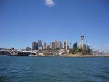 Horizonte Sydney Foto de archivo libre de regalías