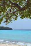 Horizonte tropical foto de archivo