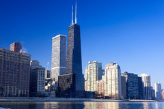 Horizonte urbano de Chicago imágenes de archivo libres de regalías
