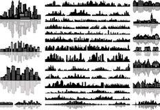 Horizontes ilustración del vector