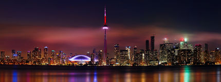 Horizontes de Toronto Imagenes de archivo