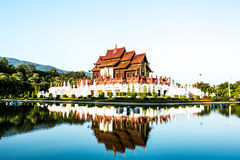 Horkamluang in the royalflora chiangmai Thailand royalty free stock images